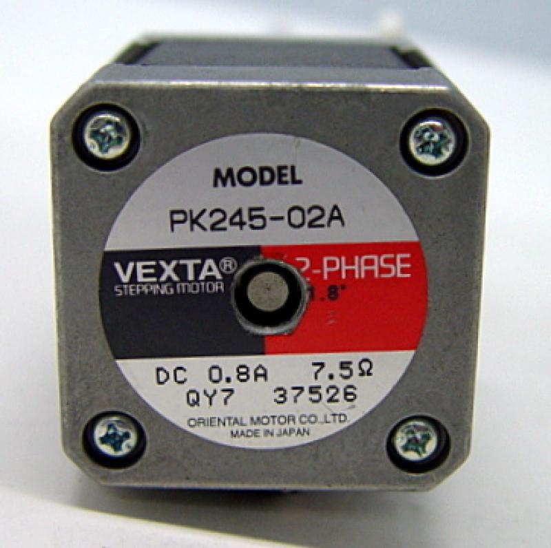 Vexta Pk245 02a 2 Phase Stepping Motor Ebay