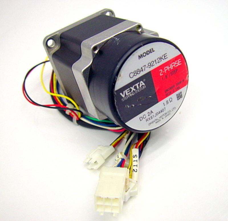 Vexta oriental c8847 9212ke 2 phase stepping motor 1 8 Vexta 2 phase stepping motor