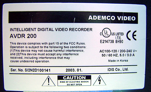 Ademco,AVDR,200,,picture5