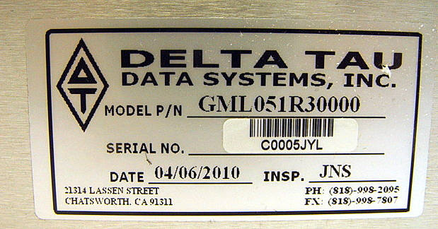 Delta,Tau,Data,Systems,GML051R30000,,picture4