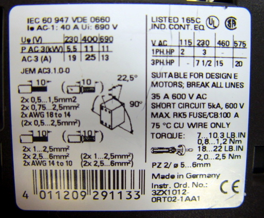 Murr,Elektronik,3RT1026,1B,,picture5