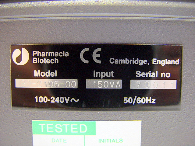 Pharmacia,UltraSpec,2000,,picture7