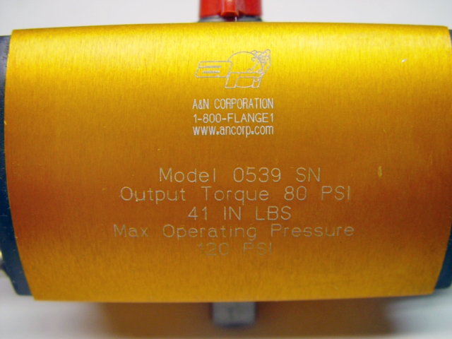 A/&N Corp Model 0539-SN Air Operated Vacuum Valve