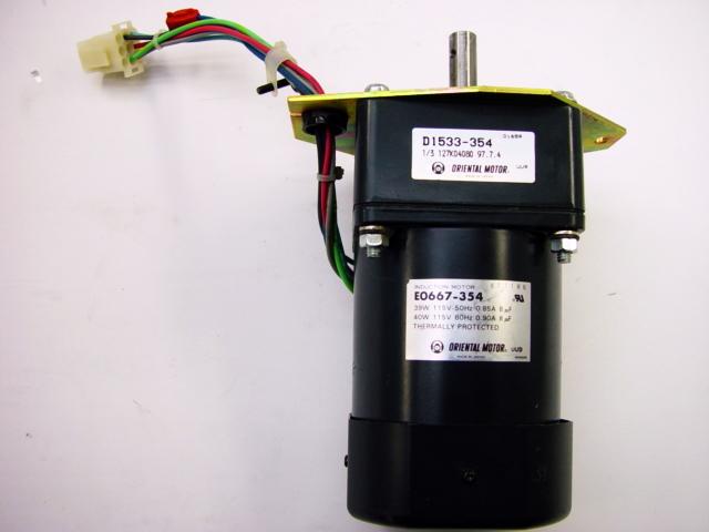 ORIENTAL MOTOR ELECTRIC INDUCTION MOTOR B0075-344 100V 100 V VOLT 50//60HZ